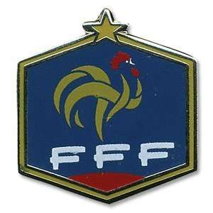 France Logo Pin Badge