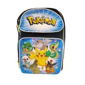 Medium BackPack   Pikachu and Friends Medium School Bag Toys & Games