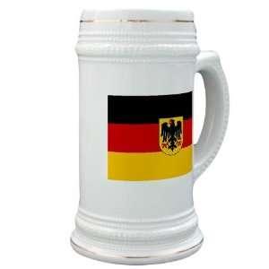 German Flag Beer Stein by