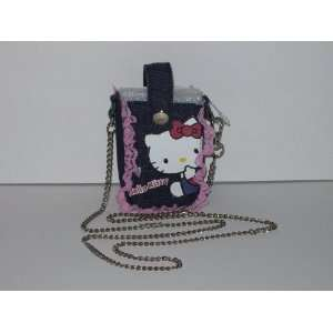 Hello Kitty Denim Cell Phone Case Holder Electronics