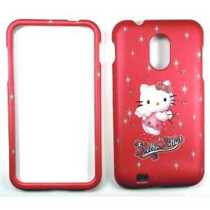 Hello Kitty   Pink   Samsung Epic Touch 4G Faceplate Case