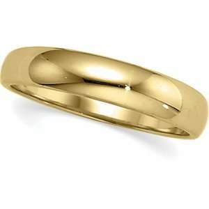 Genuine IceCarats Designer Jewelry Gift 14K Yellow Gold Wedding Band