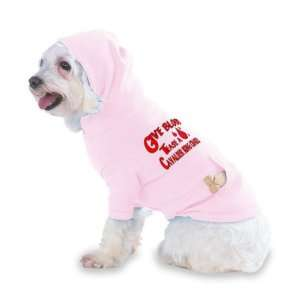 King Charles Hooded (Hoody) T Shirt with pocket for your Dog or Cat