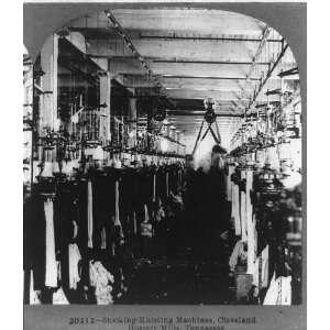 Stocking knitting machines,Cleveland Hosiery Mills