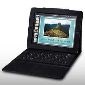 IPAD LEATHER FLIP CASE WITH KEYBOARD BY CELLAPOD CASES