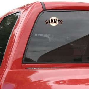 MLB San Francisco Giants Mascot Mini Cling Automotive