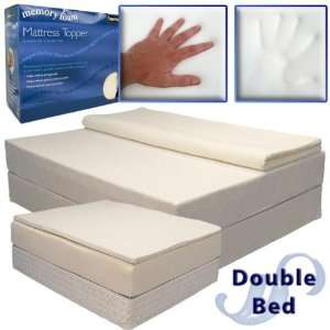 Memory Foam Mattress Topper for a Double Bed