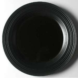 Mikasa Swirl Black 12 Chop Plate (Round Platter), Fine China