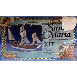 Santa Maria Authentic Wooden Model Kit Toys & Games