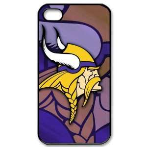 Designed iPhone 4/4s Hard Cases Vikings team logo Cell