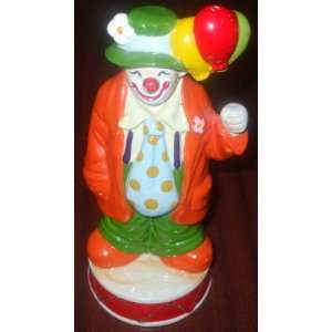 Enesco Clown Music Box You Light Up My Life Everything