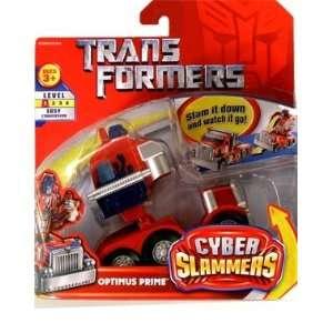 Transformers Cyber Slammer Optimus Prime Toys & Games