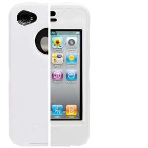 OtterBox Defender Case w/ White Holster Belt Clip for Apple iPhone