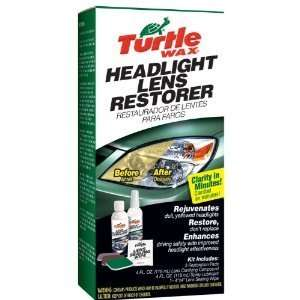 Turtle Wax T 240KT Headlight Lens Restorer Kit with FREE MINI TOOL BOX