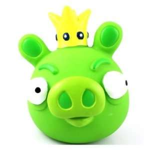 Cute Angry Birds Piggy Bank Money Jar Coin Box S1   Green