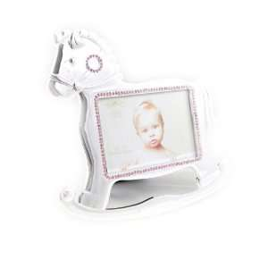 Picture frames Mon Ange rocking horse pink.: Home & Kitchen
