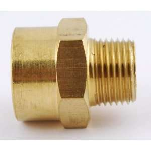 NPT Female to 3/8 NPT Male Brass Pipe Adaptor/Adapter Straight