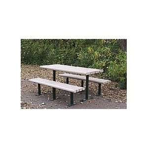 Trader Recycled Plastic Picnic Tables Patio, Lawn