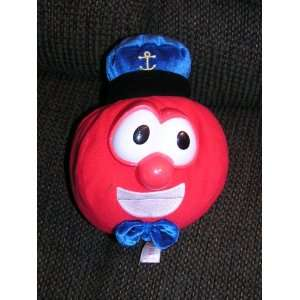 Plush 9 Captain Bob the Tomato Doll By Fisher Price