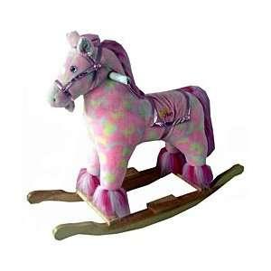 Plush Pink Pony Rocking Horse: Everything Else