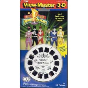 Mighty Morphin Power Rangers #1 View Master 3D 3 Reel Set  Toys