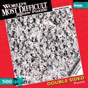 Worlds Most Difficult Jigsaw Puzzle Dalmatians Toys & Games