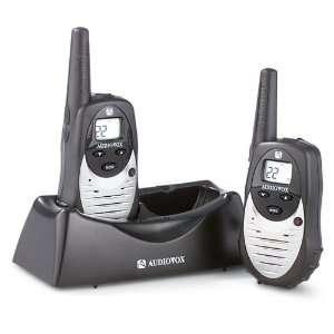 2 Audiovox GMRS Radios with Bonus Accessories Sports