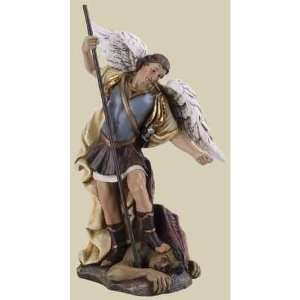 St. Michael Archangel Religious Figurines 4.75 Home & Kitchen