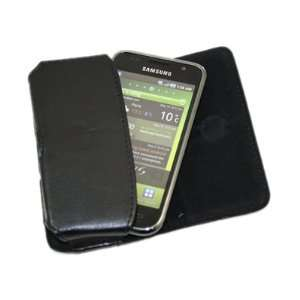 Case with Belt Loop for Samsung i9000 Galaxy S   Black Electronics