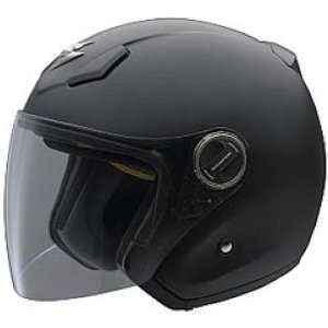 Scorpion Solid EXO 200 Harley Touring Motorcycle Helmet   Matte Black