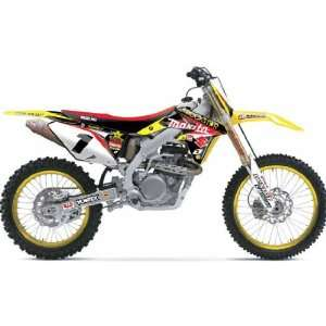 2011 ONE INDUSTRIES ROCKSTAR MAKITA GRAPHICS/SEAT KIT   Suzuki RMZ 250