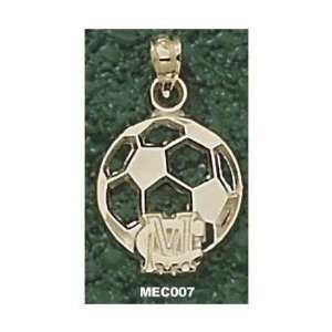 MC Soccerball Pendant   14KT Gold Jewelry