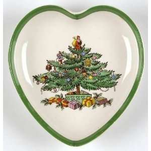 Spode Christmas Tree Heart Shaped Trays