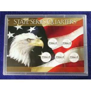 State Series Quarters Hard Case (Holds 5 Coins) Toys
