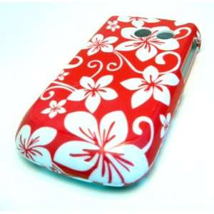 Samsung R375c Straight Talk Pink Hawaii Flowers Design