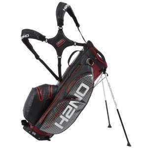 Sun Mountain 2012 H2NO Golf Stand Bag (Red/Black/Grid
