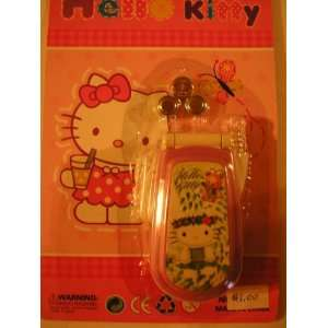 Hello Kitty Toy Cell Phone ~ Lavender & Batteries Toys