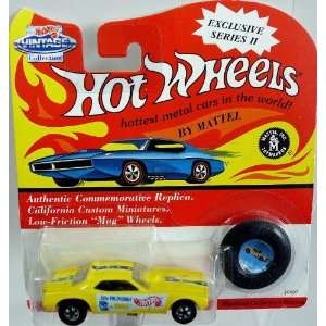 Vintage Collection Exclusive Series II Don Prudhomme Yellow Snake Car