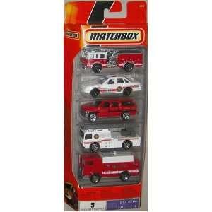 Matchbox 5 Fire Truck Vehicles New  Toys & Games