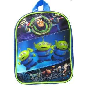 Toy Story 3 Alien Kids Mini Toddler Backpack 10 Inch  Toys & Games