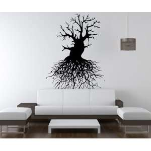 Vinyl Wall Decal Sticker Tree Roots item OS_AA111m