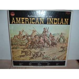 Everest elec. stereo 3LP vinyl box set. Various Indian tribes. Music