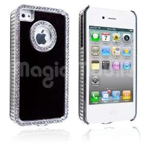 Black / Silver Rhinestone *Gratis Stylus*: Cell Phones & Accessories