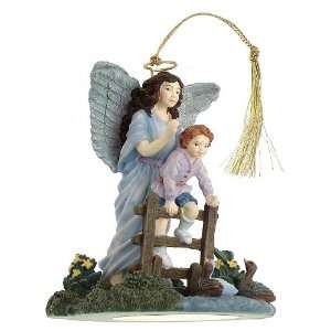 Protector Someone to Watch Over Me guardian angel ornament   F447