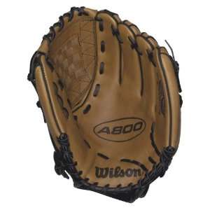 Wilson A800 Series Baseball Glove (12 Inch) Sports
