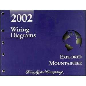 Mercury Mountaineer Wiring Diagram Manual Original Ford Books