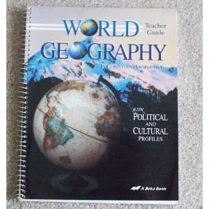World Geography in Christian Perspective   Teacher Guide