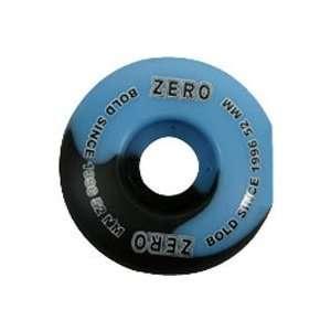 Zero Bold Blue/Black 52mm Wheels
