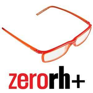 ZERO RH DEUS Eyeglasses Frames Blood Orange RH09003