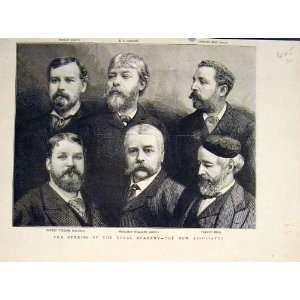 Portrait Royal Academy Associates Macbeth Leader 1883